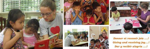 Lucy voluntariado internacional compo