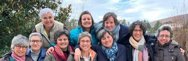 encuentro de RSCJ en Miraflores de la Sierra Casa de Acogida RSCJ