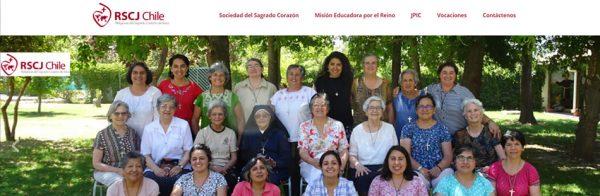 Nueva web RSCJ Chile